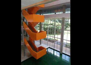 Escadas Metálicas-NASP